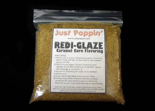 Redi-Glaze -- Caramel Corn Coating 16oz