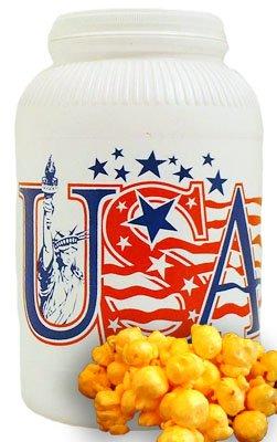 Cheddar Cheese Popcorn - 1 gal (Patriotic Scene)