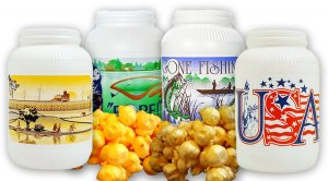 Buy 3 GET 1 FREE (1 gal canister) 4x Caramel Popcorn