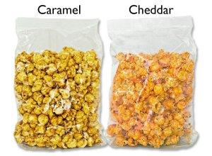 12 Pack - 6x Caramel Popcorn / 6x Cheddar Cheese Popcorn (8oz bags*) FREE SHIPPING**