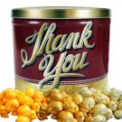 Popcorn Gift Tin - 2 gal (Thank You)