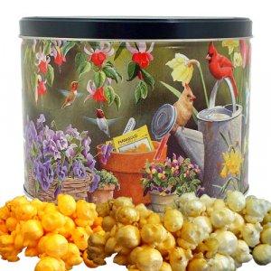 Popcorn Gift Tin - 2 gal (Spring Time)