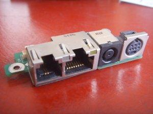 Dell Inspiron 700m 710M Power Jack Board 48.43e03.011