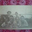SALE** Vintage Photographic Postcard- Family