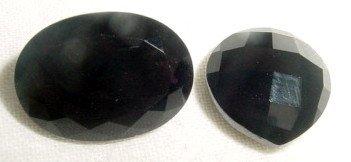 Large Smoky Quartz Gemstones Dark Brown 2 Pcs 9ct 6ct