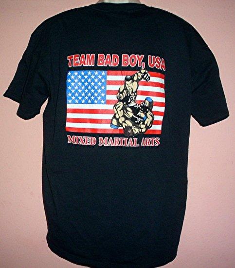 Bad Boy Tee shirt . Team Bad Boy Martial Arts XL
