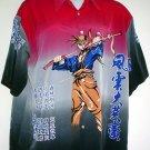 Mans shirt Samurai manga XXL
