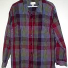 Womans shirt 3X checked Christopher & Banks CJ Banks