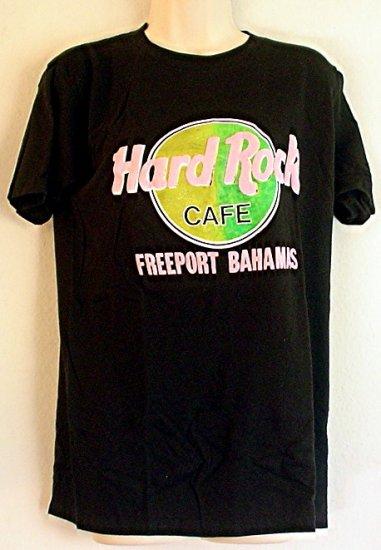 Hard Rock Cafe tee shirt Freeport Bahamas Large