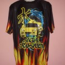 Sheer poly tee shirt Night Crawler Car racing Street racing Night racing size Large L