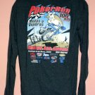 Mexican off road racing Long sleeve tee shirt Poker Run 100 KM 2006 Size Large L