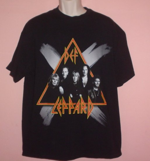 Def Leppard tour shirt Rock Music Tennessee River tee Size XL