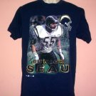San Diego Chargers tee shirt Junior Seau 1997 Size Large L