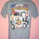 Thanksgiving Sand Dunes tee shirt 2005 Gordons Well motorcycle dune buggy four wheeler M