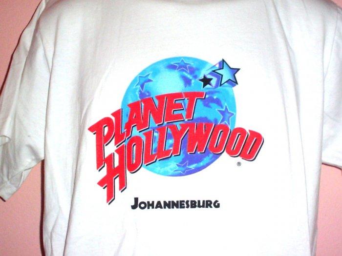 Tee shirt Planet Hollywood Johannesburg South Africa Cotton  Size Medium M