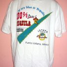 Tee shirt Tequila Tour El Tapatio Puerto Vallarta Mexico Size X Large XL