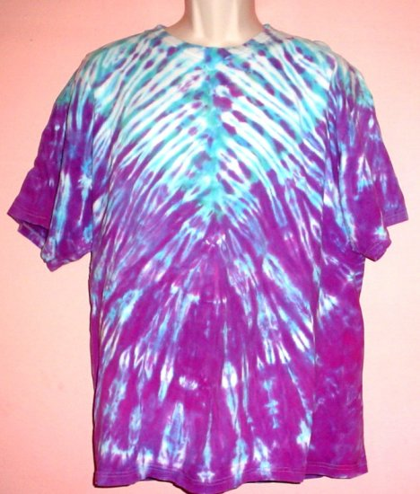 Tee shirt Retro Hippie Tie Dyed Size Extral Large XL
