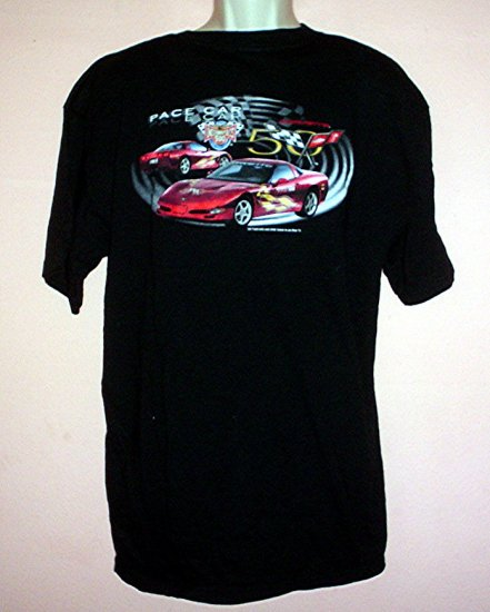 Tee shirt Corvette 50 Indianapolis 500 Pace Car 2002 Size Extra Large XL