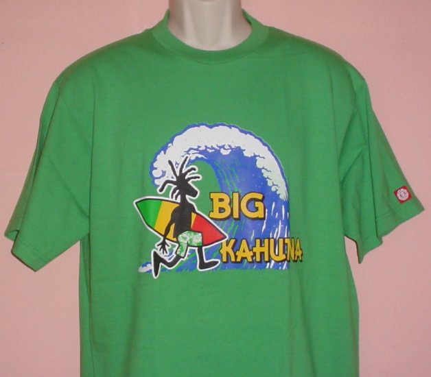 Tee shirt Surfing BIG KAHUNA cotton Size Large L