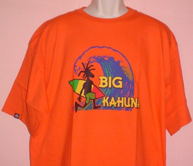 Tee shirt Surfing BIG KAHUNA cotton Size Extra Large XL