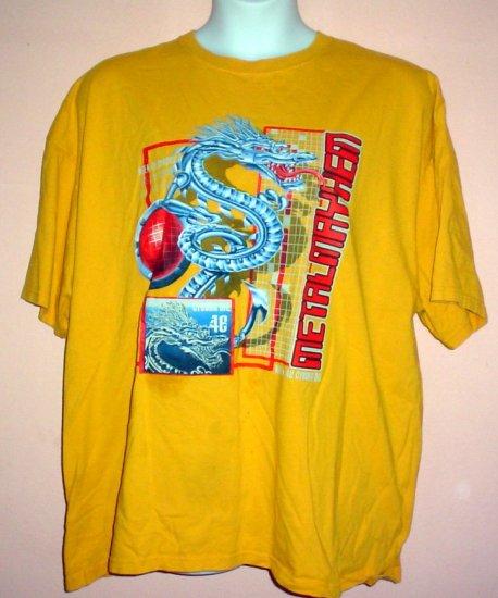 Gamers tee shirt Metallica Dragon cotton No Boundaries Size  2XL