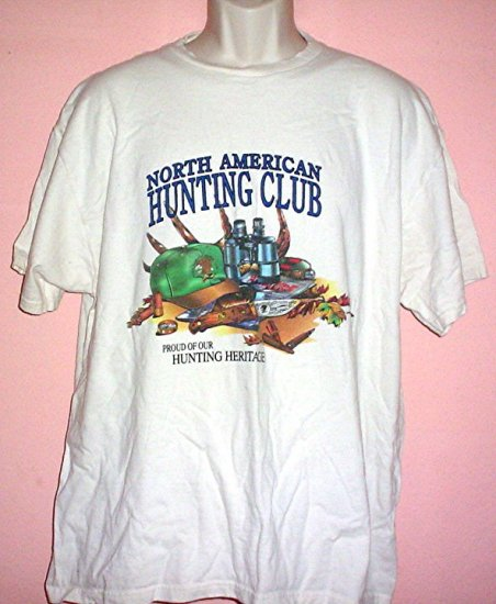Tee shirt NORTH AMERICAN HUNTING CLUB Proud ofOur Hunting Heritage Size XL