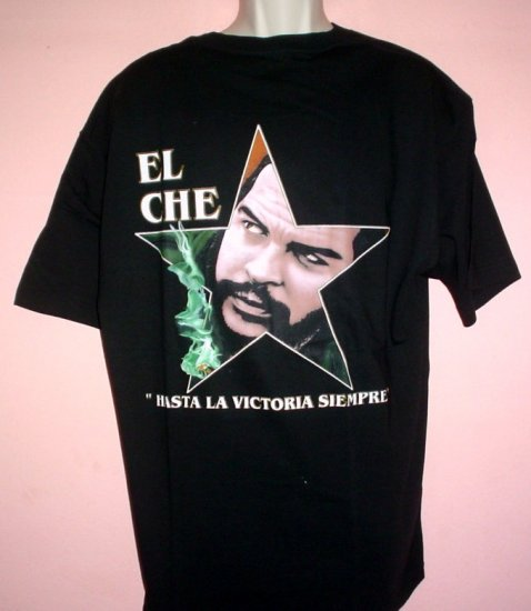 New NWT Che Guevara tee shirt HASTA LA VICTORIA SIEMPRE (Onward to victory) cotton Size XL