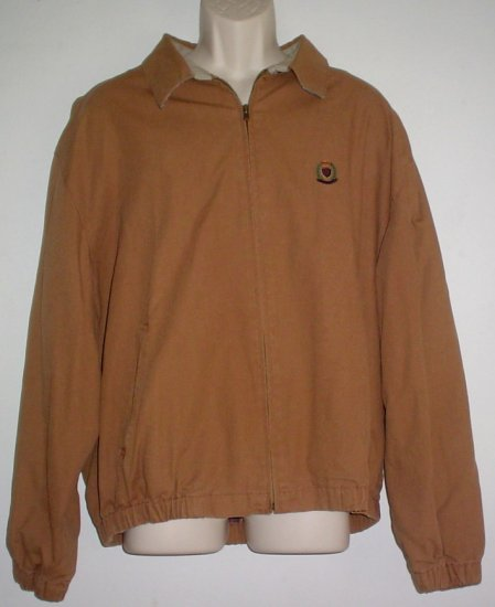 Barn coat  jacket, flannel lined, canvas duck Hunt Club label Size extra large XL