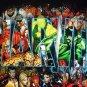 Marvel Comics Mad Engine tee shirt picturing all Marvel superheroes. Large L