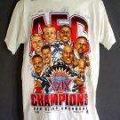 NEW Super Bowl XXIX  NFL champions tee shirt San Diego Chargers 1995 Large L