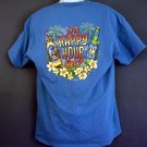 Big Dog beer tee shirt IS IT HAPPY HOUR YET? Large L
