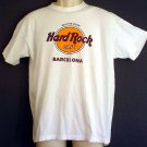 Hard Rock Cafe tee shirt Barcelona Spain SAVE THE PLANET Large L