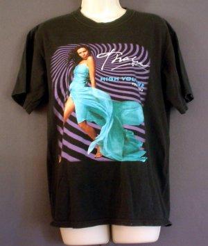 Thalia tour tee shirt High Voltage Tour 2004 Size medium M