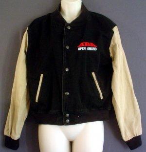 Woman bicycling jacket ID Wear NEW Canada ABA BMX Racing Open Award Cotton duck Size 12