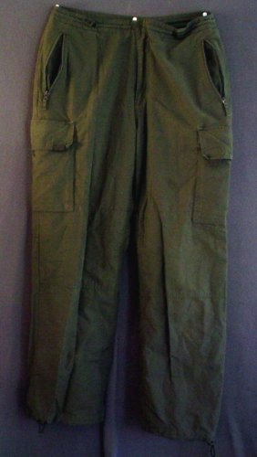 Cargo pants, insulated, cotton Gap Size medium 34/30