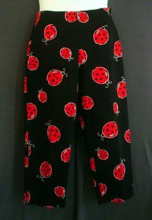 NEW Ladybug slacks, pants. Briggs made in USA. Cotton Size 12
