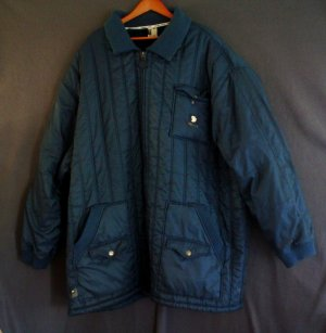 Big mans insulated jacket Nylon State Property label Size 5X