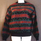 Wool sweater tight knit Uraguay Size large L