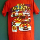 Vintage 1997 NASCAR tee shirt Bill Elliott. McDonalds car 94. Size large