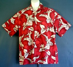 Pierre Cardin Hawaiian sports shirt NEW cotton. Size large