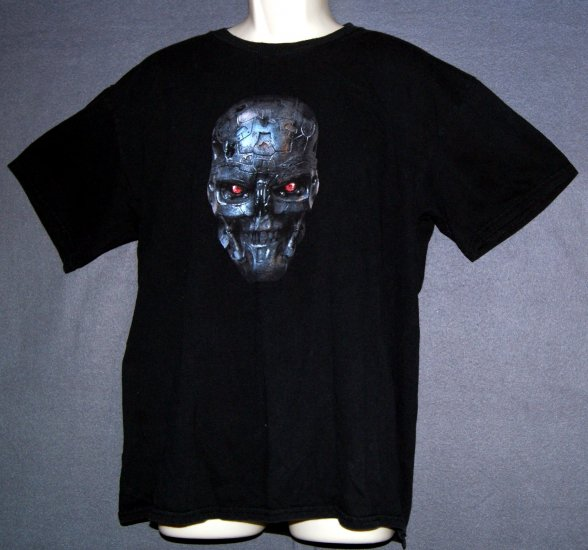 Comic con 2008 tee shirt NEW Terminator Salvation Large L