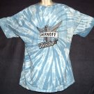 Smirnoff Vodka tee shirt Tie dye Lifes More Interesting Twisted  XL