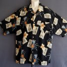 Hawaiian sports shirt Washable silk Jamaica Jaxx XXL
