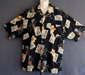 Hawaiian sports shirt Washable silk Jamaica Jaxx XXL