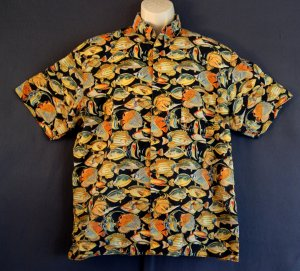 Reef fish sports shirt Large