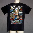Gamers teeshirt videogames How to tell a gamer XL