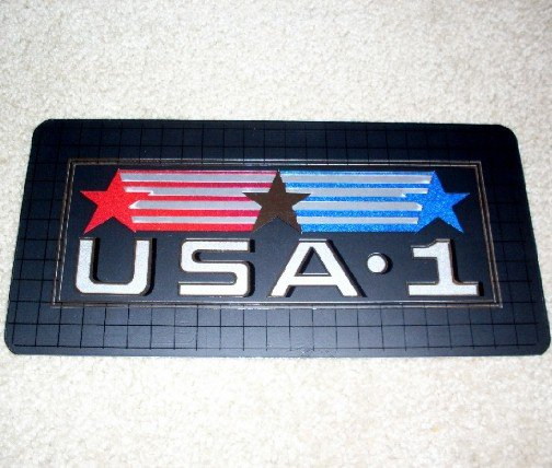 **USA #1** LICENSE PLATE ~Metal~Car Tag~Made in USA~NEW