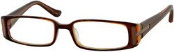 Product # 4309 Striped Acetate Full Rim Frames with Spring Hinges