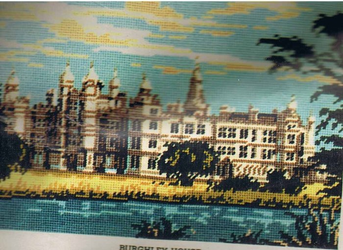 Vintage Twilleys' Burghley House Tapestry/Needlepoint Kit