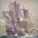 Paragon Preworked Ship Sailing Away Needlepoint Canvas